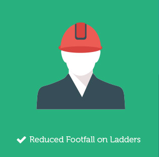 Reduced Footfall on Ladders